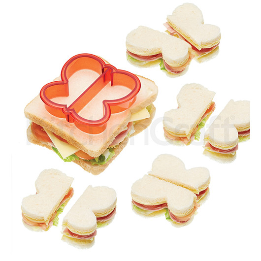 Let's Make Формочка для нарезки сэндвичей Бабочка  (арт. 171283)