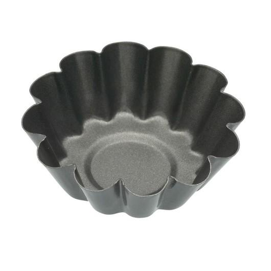 KC NS Форми для випічки міні-Кошиків рифлені з антипригарним покриттям 6см 4 одиниці  (арт. 145994)
