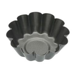 KC NS Форми для випічки міні-Кошиків рифлені з антипригарним покриттям 6см 4 одиниці