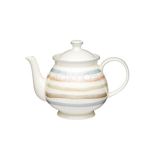 """CC Чайник керамический """"Полоски"""" 1,4 л  (арт. 704702)"""