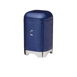 LovN Емкость для кофе металлическая синяя 11*11*19 см