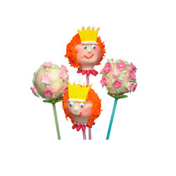 SDI Палочки для мини тортиков цветные  15см 60 единиц (голубые/розовые/зеленые)