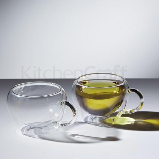 LX Набор чашек для чая или кофе  с двойной стенкой 230 мл  (арт. 681546)