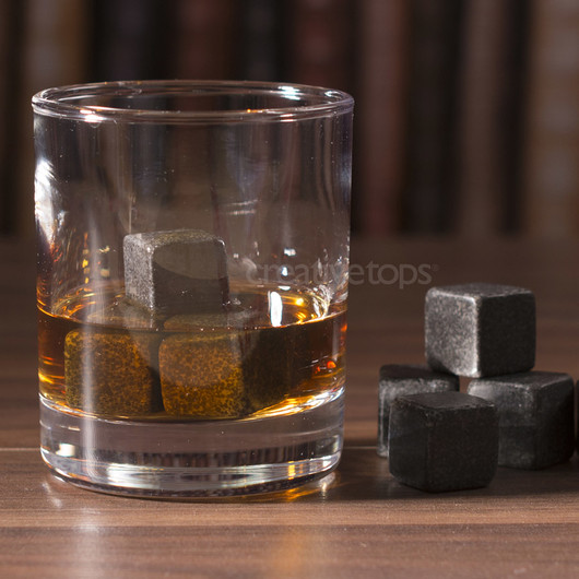 CT Earlstree & Co Набор каменніх кубиков для охлаждения напитков в деревянной коробке  (арт. 5226230)