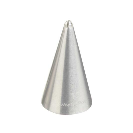 SDI Насадка на кондитерський шприц з нержавіючої сталі маленька Зірка закрита 1мм  (арт. 454195)