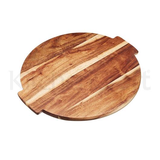 MC Artesa Доска Lazy Susan деревянная сервировочная вращающаяся, 39x35х1,5см  (арт. 520326)