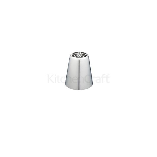 SDI Насадка на кондитерський шприц з нержавіючої сталі велика Анютині очка 2 см  (арт. 801838)