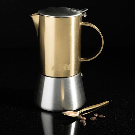 CT La Cafetiere Edited Кавоварка гейзерна золотистого кольору (4 чашки)  (арт. 5201337)