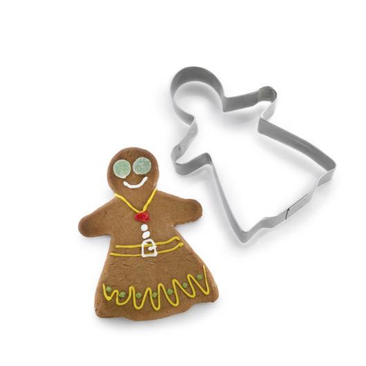 Let's Make Формочки для печива Імбирна сім'я металеві 4 елементи  (арт. 118325)