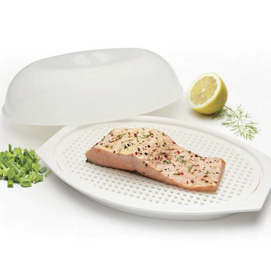KC MW Пароварка для рыбы для микроволновой печи  (арт. 450012)