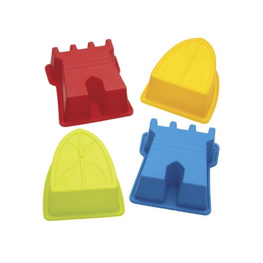 Miniamo Brights Набір силіконових форм для кексів / желе 4 одиниці  (арт. 103802)