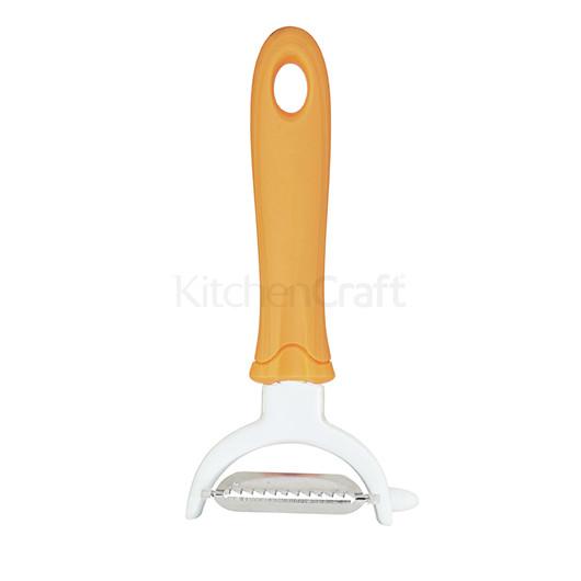 KC Нож для чистки и нарезки овощей горизонтальный 2в1  (арт. 697622)