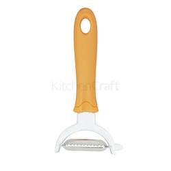 KC Нож для чистки и нарезки овощей горизонтальный 2в1