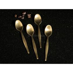 CT La Cafetiere Edited Набор ложек для эспрессо золотистого цвета 4 шт.