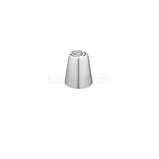 SDI Насадка на кондитерский шприц из нержавеющей стали большая Роза 2 см  (арт. 801845)