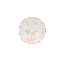 KC Миска керамическая Розовая орхидея 15.5x7.5см 500мл