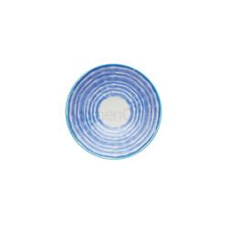 KC Миска керамическая Голубая акварель 15.5x7.5см 500 мл