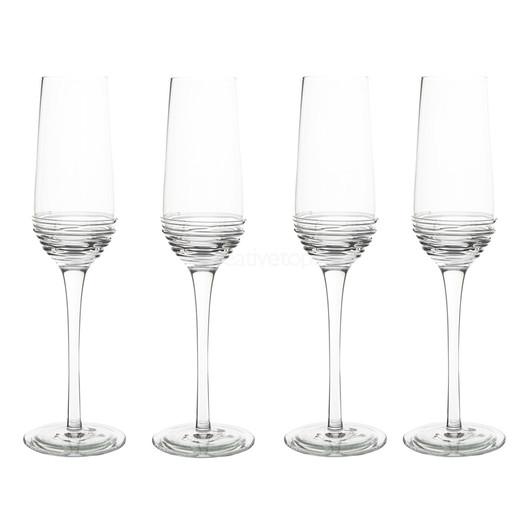 Mikasa Ciara Набор бокалов для шампанского 230 мл 4 ед  (арт. 5178505)