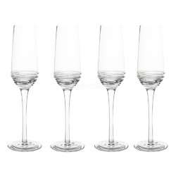 Mikasa Ciara Набор бокалов для шампанского 230 мл 4 ед
