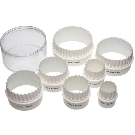 KC Формочки для печенья двусторонние пластиковые 7 единиц  (арт. 121042)