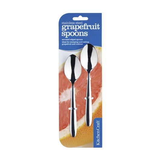 KC Ложки для грейпфрута з нержавіючої сталі 2 одиниці  (арт. 115928)