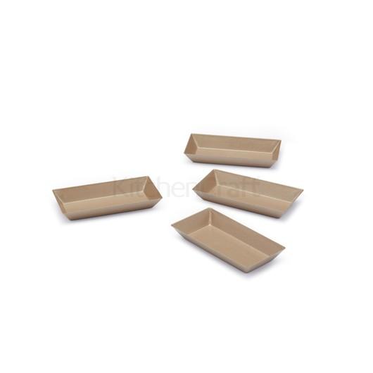 Paul Hollywood Форма для мини пирогов прямоугольная 4 шт  (арт. 672476)