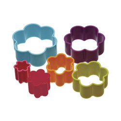 CW Набор формочек для печенья Цветочки