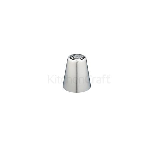 SDI Насадка на кондитерський шприц з нержавіючої сталі велика Чайна троянда 2 см  (арт. 801883)