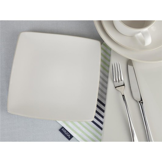 Mikasa Gourmet Тарілка десертна квадратна керамічна  (арт. 5179096)