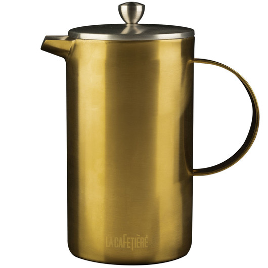 CT La Cafetiere Edited Кавник з подвійною стінкою золотистого кольору (8 чашок)  (арт. 5201340)