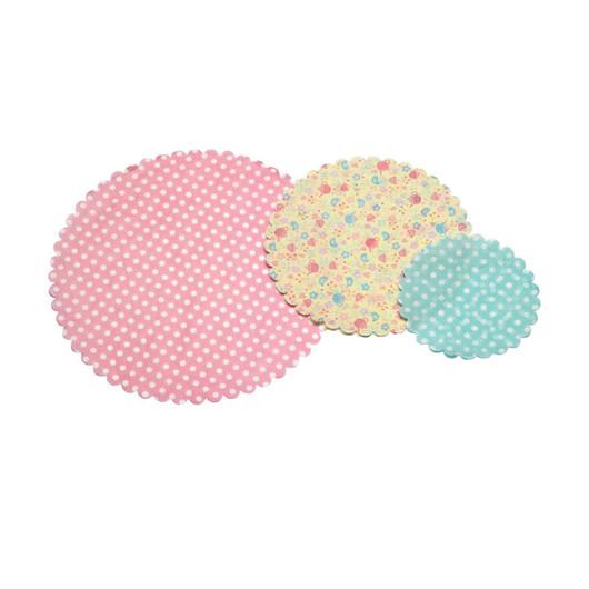 SDI Серветки під торти 12см, 18см і 25см 30 одиниць  (арт. 382658)