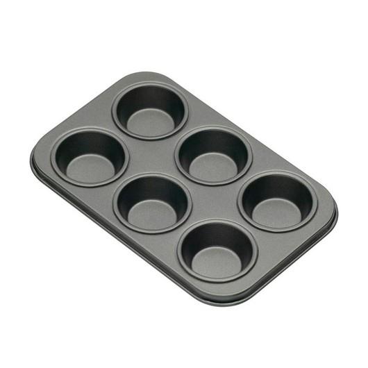 KC NS Форми для випічки міні-кексів 6 отворів з антипригарним покриттям 15см х 10см 2 одиниці  (арт. 146021)