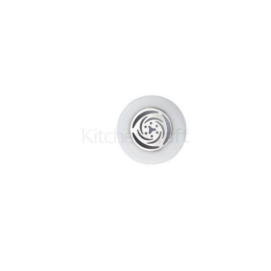 SDI Насадка на кондитерский шприц из нержавеющей стали средняя Чайная роза 1,6 см  (арт. 795717)