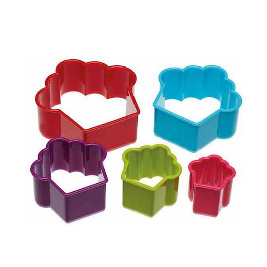 CW Набір формочок для печива Кекси 5 одиниць в коробці  (арт. 515865)