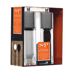 МС Набір млинів для солі і перцю з нержавіючої сталі 18 см