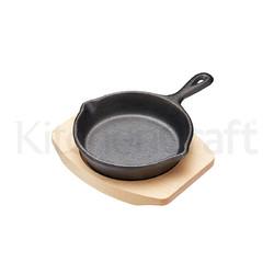 MC Artesa Сковорода міні чавунна 12*16*2 см