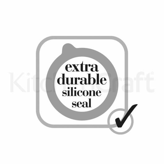 HM Баночка міні з кришкою на затискачі 120мл  (арт. 448774)