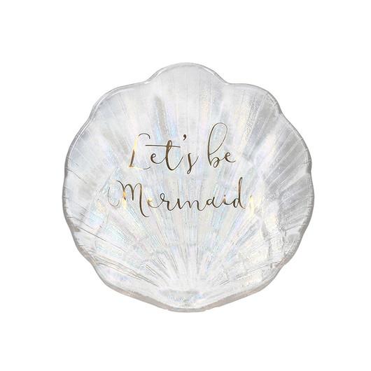 CT Ava & I Підставка для прикрас у формі раковини скляна перламутрова  (арт. 5213693)