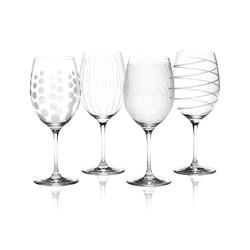 Mikasa Cheers Набір бокалів для червоного вина із кришталевого скла 4 од