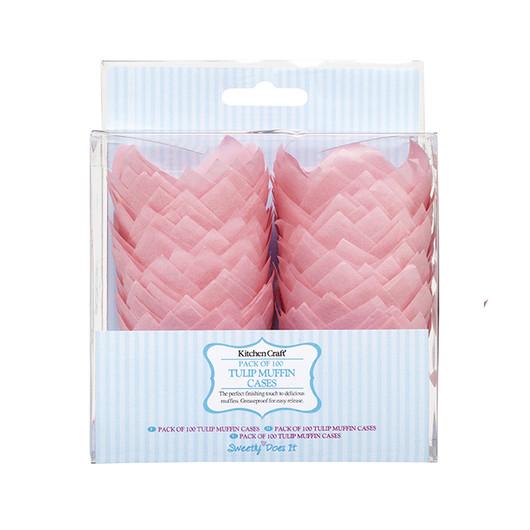 SDI Формы для кексов бумажные 6 см 100 единиц Тюльпан  (арт. 450357)