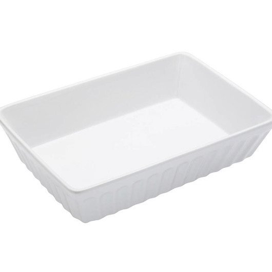 WFIT Блюдо для лазаньи белое 30см x 21см x 6см  (арт. 159212)