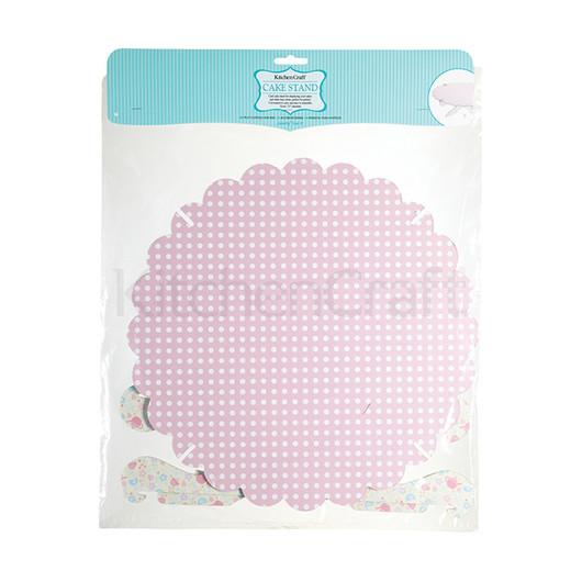 SDI Стойка для торта бумажная складная 33см  (арт. 450371)