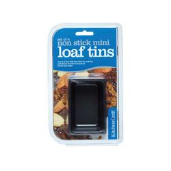 KC NS Форми для випічки міні-хліба з антипригарним покриттям 7см х 4,5 см 4 одиниці