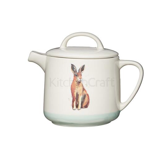 AF Чайник керамический Кролик 1.4л  (арт. 774002)