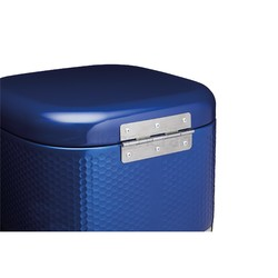 LovN Ємкість для торту металева синя 26*26*19 см