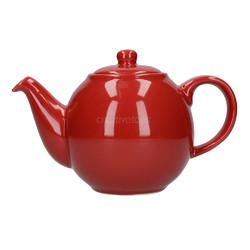 CT London Pottery Globe Чайник керамічний 500мл червоний