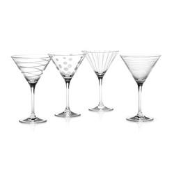 Mikasa Cheers Набір бокалів для мартіні із кришталевого скла 4 од