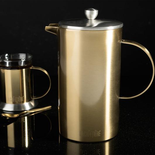 CT La Cafetière Edited Кофейник с двойной стенкой золотистого цвета (8 чашек)  (арт. 5201340)