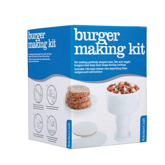 KC Прес для формування гамбургерів 50гр і 100 воскових розділових аркушів  (арт. 132482)