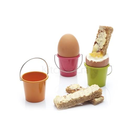 """CW Підставка для яєць """"Відерце"""" металеве  (арт. 670380-к)"""